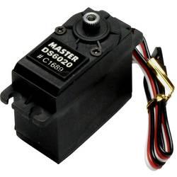 Master standardni servo DS6020 MG digitalni servo Pogonski material: titan Vtični sistem: uni (graupner/jr/futaba)