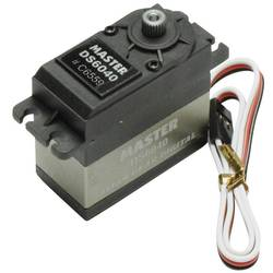 Master standardni servo DS6040 TG digitalni servo Pogonski material: titan Vtični sistem: uni (graupner/jr/futaba)