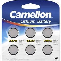 Camelion komplet gumbastih baterija 2x CR2016, CR2025, CR2032 svaki