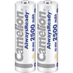 Laddbart batteri R6 (AA) NiMH Camelion AlwaysReady 2500 mAh 1.2 V 2 st