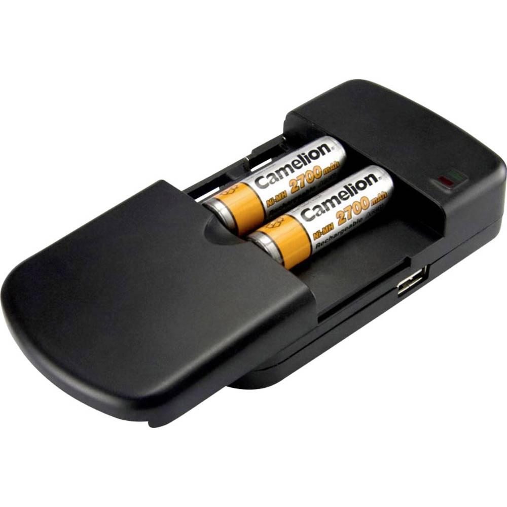 Punjač baterije za kameru LBC-312 Camelion 20000312 Odgovarajući akumulator Litijev-ionski, Litijev-polimerski, Nikalj-metal-hidridni, Nikalj-kadmijev