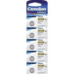 Gumbne celice CR 1225 Litijev Camelion CR1225 50 mAh 3 V 5 KOS