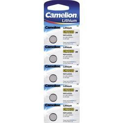 Gumbne celice CR 1220 Litijev Camelion CR1220 38 mAh 3 V 5 KOS