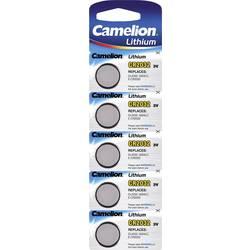Gumbne celice CR 2032 Litijev Camelion CR2032 220 mAh 3 V 5 KOS