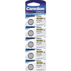 Gumbne celice CR 1620 Litijev Camelion CR1620 90 mAh 3 V 5 KOS