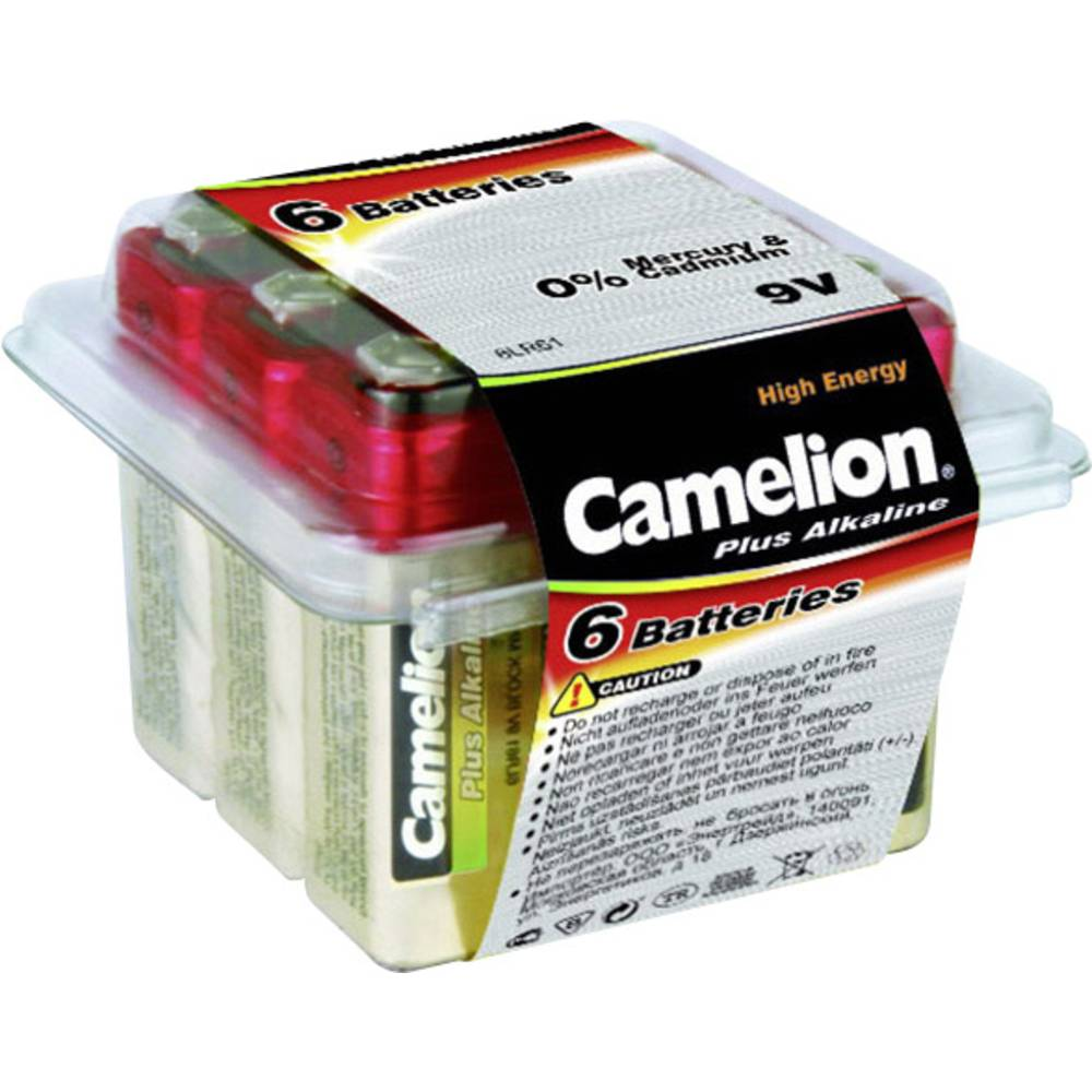 9 V baterija Alkalno-manganov Camelion 6LR61 700 mAh 9 V 6 KOS