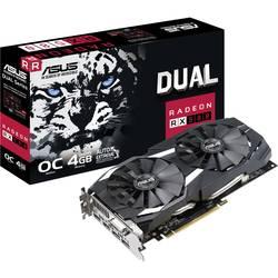 Asus grafična kartica AMD Radeon RX 580 Dual Overclocked 4 GB gddr5-ram pcie x16 hdmi, dvi, display port