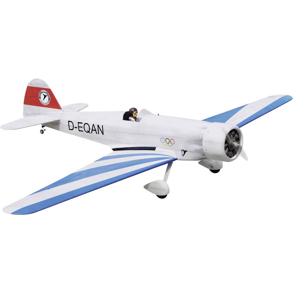 EXTRON Modellbau Messerschmitt M35 RC model motornega letala ARF 2200 mm