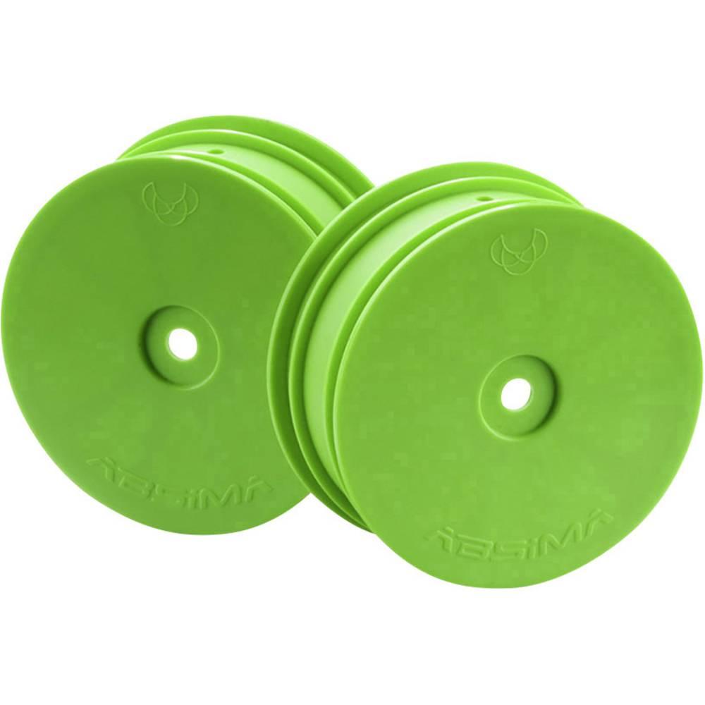 Absima 1:10 Buggy Platišča Disk Zelena 1 par