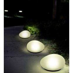 solarno dekorativno svjetlo kamen led 0.16 W neutralno-bijela Polarlite 3 St.