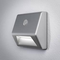 LED-nattlampa med rörelsedetektor LED OSRAM NIGHTLUX Stair Kvadratisk Neutralvit Silver