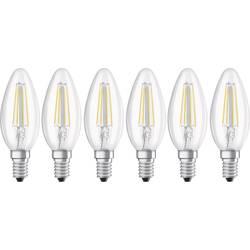 LED Kronljus E14 OSRAM Filament 4 W 470 lm A+ Neutralvit 6 st