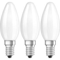 LED Kronljus E14 OSRAM Filament 4 W 470 lm A++ Varmvit 3 st