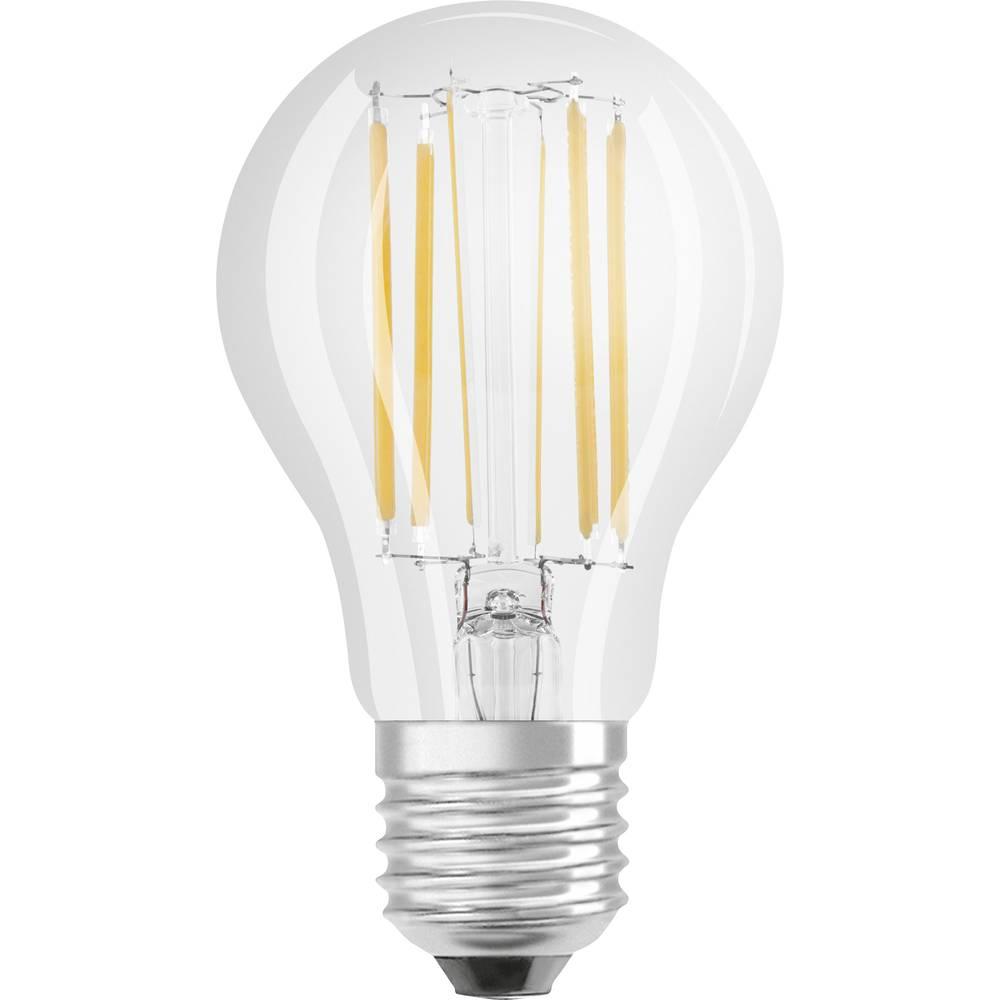 LED Glödlampsform E27 OSRAM dimbar, Filament 8.5 W 1055 lm A++ Varmvit 1 st