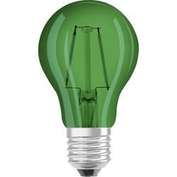 LED Glödlampsform E27 OSRAM Filament 2 W 45 lm A+ Grön 1 st