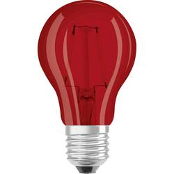 LED Glödlampsform E27 OSRAM Filament 2 W 45 lm A+ Röd 1 st