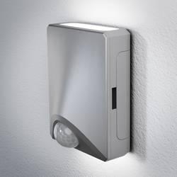 LED-utomhusväggbelysning med rörelsedetektor OSRAM DoorLED UpDown 1 W 80 lm Neutralvit Silver