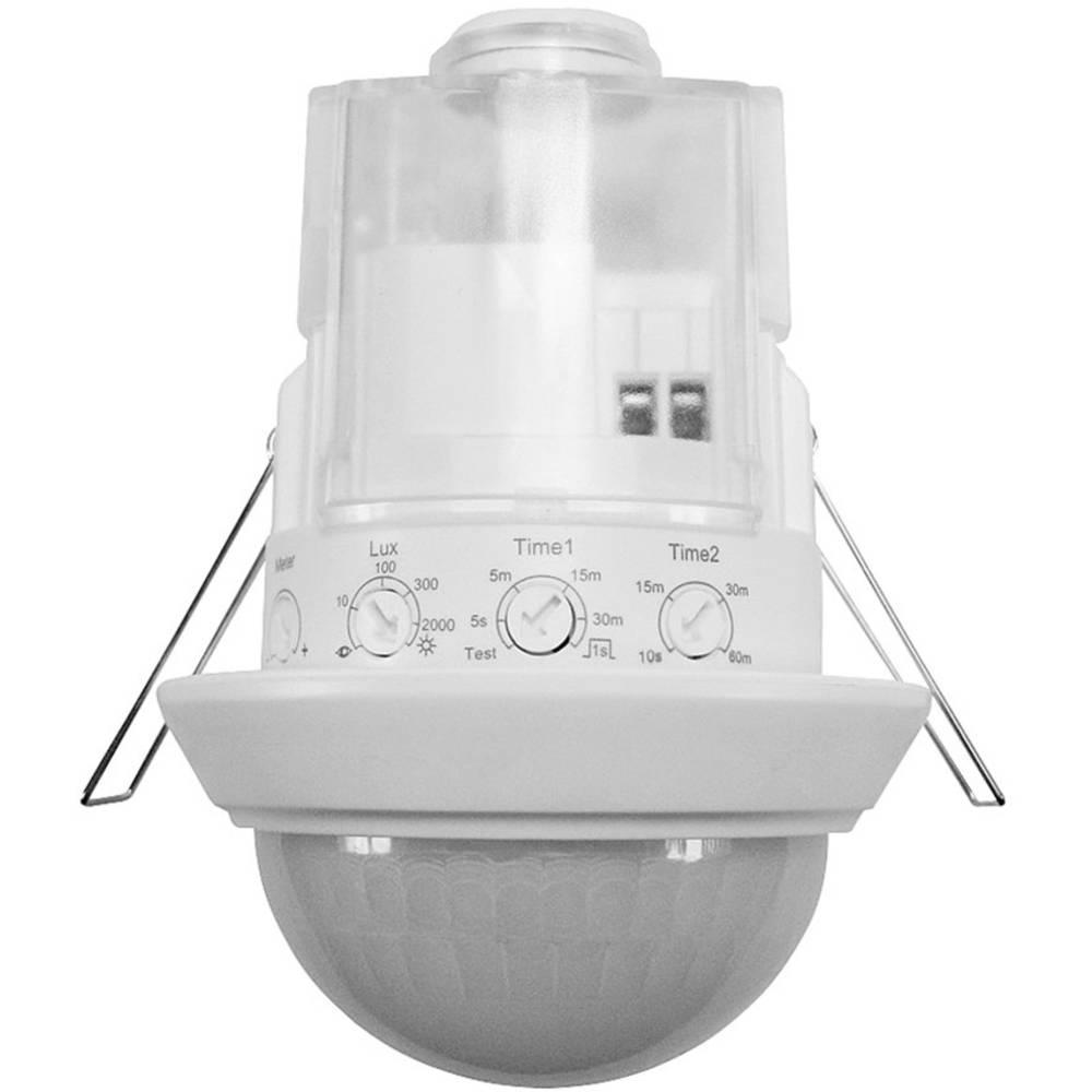 Grothe 94505 vgradnja, strop pir javljalnik gibanja 360 ° rele bela ip44