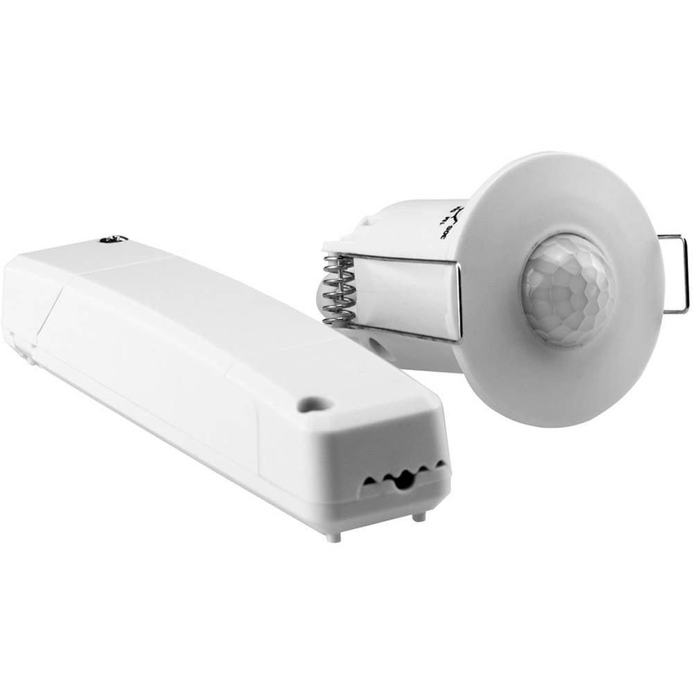Grothe 94506 nadometna, strop, vgradnja pir javljalnik gibanja 360 ° rele bela ip20