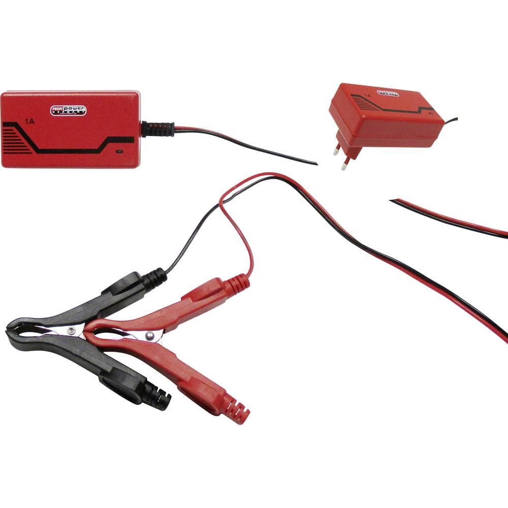 Automatisk oplader, Stikoplader, Oplader Profi Power ICS1 6/12V 2913906 6 V, 12 V 1 A 1 A
