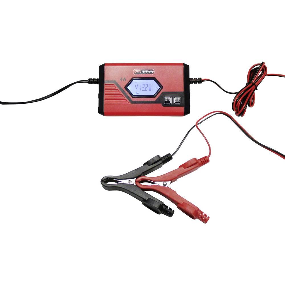 Automatisk oplader, Oplader Profi Power ICS4 6/12V 2913907 6 V, 12 V 1 A, 4 A 1 A, 4 A