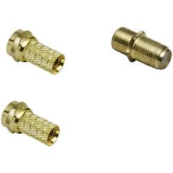 Komplet F-konektorjev, premer kabla: 7 mm