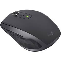 Logitech MX Anywhere 2S Bluetooth miš Laser Ponovo punjiv Grafitna