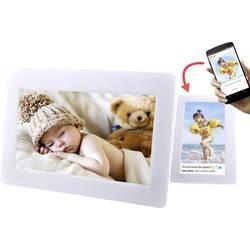 digitalni wifi okvir za slike 25.4 cm 10 palec Denver PFF-1010 White 1024 x 600 piksel 8 GB bela