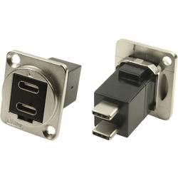 Cliff USB 3.1 uttag B Nickel 1 st