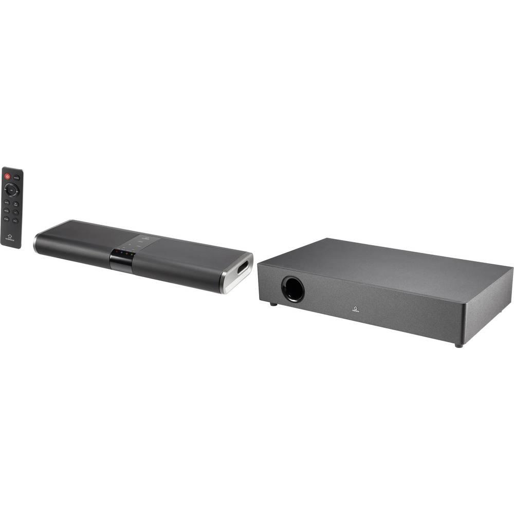 Zvučnički sustav Soundbar Renkforce RF-TB240WW crni, uklj. bežični subwoofer, Bluetooth, NFC