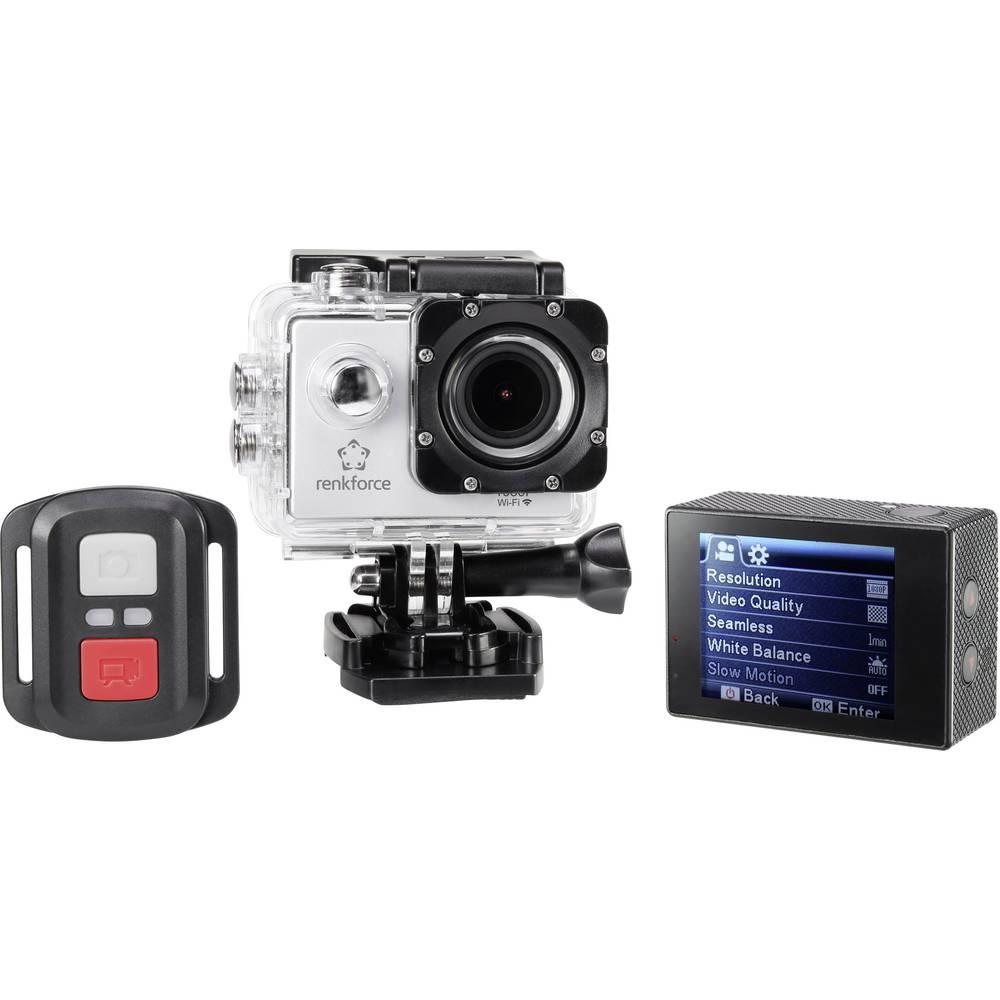 Akcijska kamera Renkforce RF-AC-1080P Full-HD, WLAN, vodootporna, otporna na prašinu