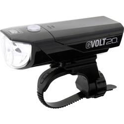 prednje svjetlo za bicikl Cateye GVOLT20RC HL-EL350G-RC led pogon na punjivu bateriju crna