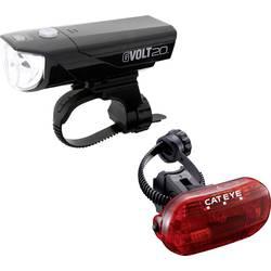 komplet svjetla za bicikl Cateye GVOLT20 + OMNI3G led baterijski pogon crna, crvena