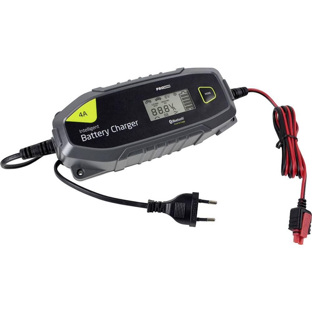 Batteriovervågning, Lademonitor ProUser Mikroprozessor Ladegerät Bluetooth 4A / IBC 4000B 16636 12 V, 6 V 4 A