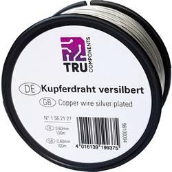 Bakrena žica, zunanji premer (brez izolacijskega laka): 0.40 mm 22 m TRU Components