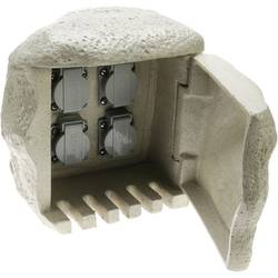 Heitronic 36314 Vrtna utičnica Granitno-siva (mat)
