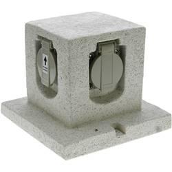 Heitronic 36315 Vrtna utičnica Granitno-siva (mat)