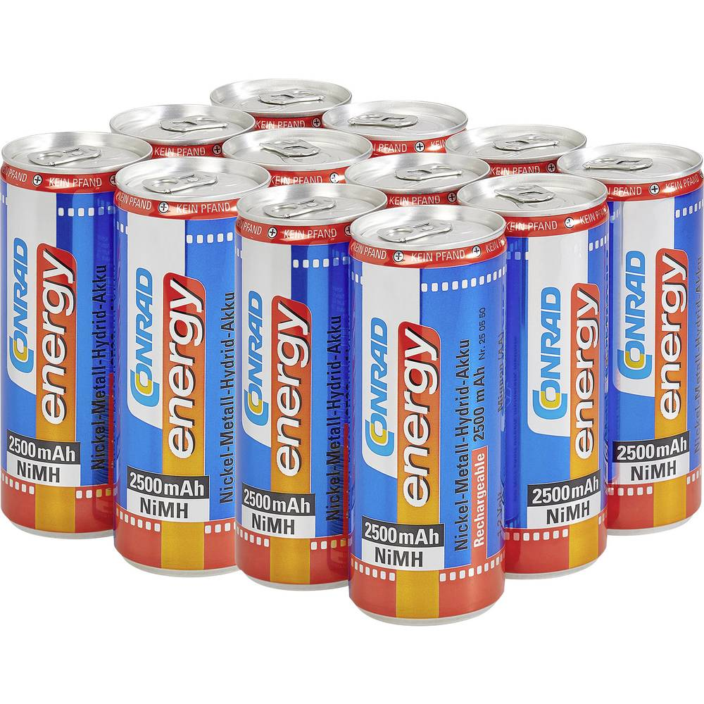 Conrad Energy Drink 12 v paketu (12x 250ml)