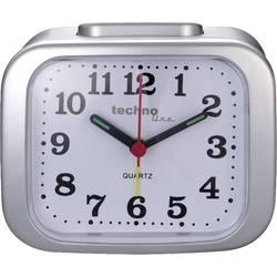 Techno Line Model XL silber kvarčna budilka srebrna Časi alarma 1