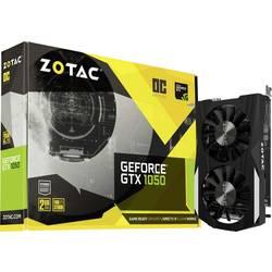 Zotac Grafična kartica Nvidia GeForce GTX1050 Overclocked 2 GB GDDR5-RAM PCIe x16 HDMI, DVI, Display Port