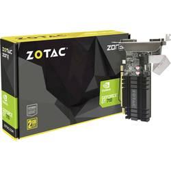 Zotac grafična kartica Nvidia GeForce GT710 Zone Edition 2 GB ddr3-ram HDMI®, DVI, VGA