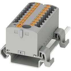 Razdjelni blok PTFIX 6/6X2,5-NS35A BU 3273200 Phoenix Contact broj polova: 7 0.14 mm 2.5 mm plava 10 kom.