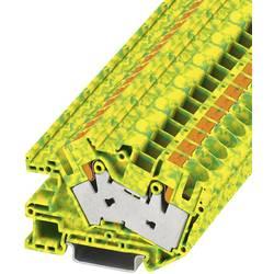 Stezaljka za zaštitni vodič PTI 16/S-PE 3214024 Phoenix Contact broj polova: 2 0.5 mm 16 mm zeleno-žuta 50 kom.