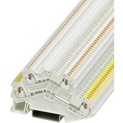 Dvokatna prolazna stezaljka PTTBS 1,5/S WH/U-YE/O-WH 3214661 Phoenix Contact broj polova: 4 0.14 mm 1.5 mm bijela 50 kom.