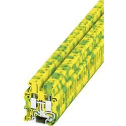 Stezaljka za zaštitni vodič MUT 4-PE 3248037 Phoenix Contact broj polova: 2 0.2 mm 6 mm zeleno-žuta 50 kom.
