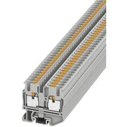 Prolazna stezaljka MPT 2,5 3248125 Phoenix Contact broj polova: 2 0.14 mm 2.5 mm siva 50 kom.