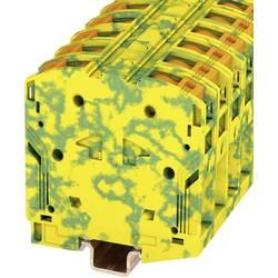 Stezaljka za zaštitni vodič PTPOWER 50-PE 3260052 Phoenix Contact broj polova: 2 10 mm 70 mm zeleno-žuta 10 kom.