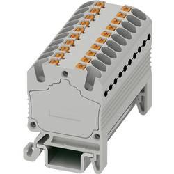 Razdjelni blok PTFIX 18X1,5-NS15A BU 3002926 Phoenix Contact broj polova: 18 0.14 mm 1.5 mm plava 20 kom.