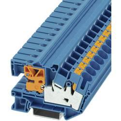 Razdvojna stezaljka PTN 16/S 3214025 Phoenix Contact broj polova: 2 0.5 mm 16 mm plava 50 kom.