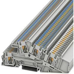 Trokatna prolazna stezaljka PTI 4-L/N 3214051 Phoenix Contact broj polova: 4 0.2 mm 6 mm siva 50 kom.